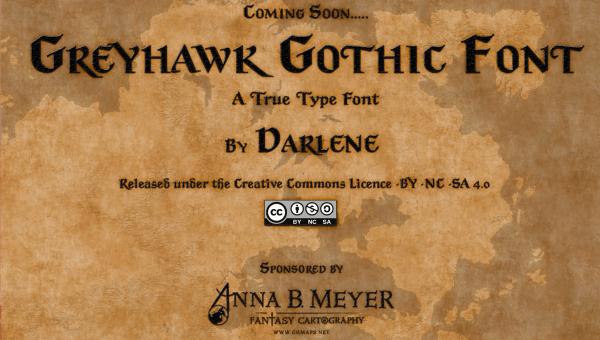 Greyhawk Gothic Font Greyhawk Online